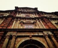 St Francis D& x27; Asissi-Kirche Goa lizenzfreies stockbild
