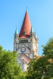 St Francis da igreja de Assisi, Viena Imagem de Stock Royalty Free