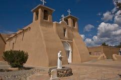 St. Francis de Asis church. The world famous St. Francis de Asis church in Ranchos de Taos, New Mexico Stock Images