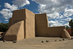 St. Francis de Asis church. The world famous St. Francis de Asis church in Ranchos de Taos, New Mexico Royalty Free Stock Photo