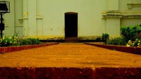 St Francis de la iglesia de Assisi, Goa Fotografía de archivo