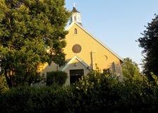 St Francis De Sales kerk in Benedict Maryland Royalty-vrije Stock Foto's