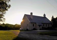St Francis De Sales kerk in Benedict Maryland Royalty-vrije Stock Afbeeldingen