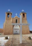 St Francis der Assisi Kirche in Taos, New-Mexiko Lizenzfreie Stockfotos