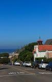 St Francis durch die Seekirche Stockfotografie