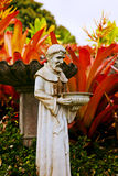 St Francis Garden Royalty Free Stock Images