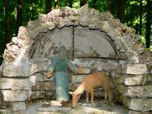 St Francis Grotto foto de archivo