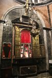 St Francis overblijfsel royalty-vrije stock afbeeldingen