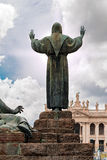 St Francis in Rom stockfotos