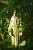 St Francis Sculpture stock images
