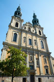 St Francis Seraphic Kerk poznan Royalty-vrije Stock Foto's