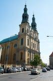 St Francis Seraphic Kerk poznan Stock Foto's