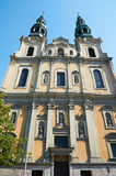 St Francis Seraphic kościół poznan Obraz Stock