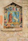 St Francis Shrine i Assisi royaltyfria bilder