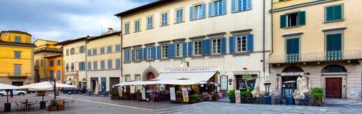 St. Francis Square Arezzo Italy Stock Photo