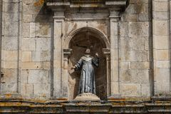 St Francis statua zdjęcie stock