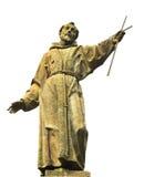 St Francis van Assisi stock foto