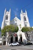 St Francis van de Kerk van Assisi - San Francisco, Californië royalty-vrije stock afbeeldingen