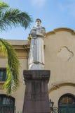 St. Francis van het standbeeld van Assisi in Jujuy, Argentinië. Royalty-vrije Stock Foto's