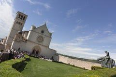 St Francis von Assisi Lizenzfreie Stockfotos