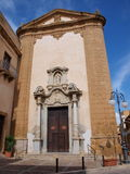 St Francis von Assisi-Kirche, mazara Del Vallo, Sizilien, Italien Lizenzfreie Stockfotos