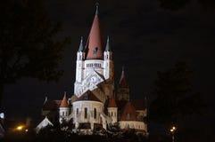 St Francis von Assisi-Kirche, Wien Stockfotos