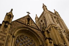 St. Francis Xaivier Catholic Church van Adelaide stock foto