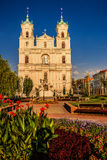 St. Francis Xavier Cathedral, Grodno. St. Francis Xavier Cathedral is a Roman Catholic cathedral in Grodno, Belarus. Originally a Jesuit church, it became a Royalty Free Stock Images