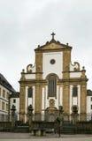 St. Francis Xavier Church, Paderborn, Tyskland arkivbild