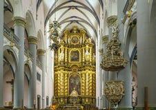 St. Francis Xavier Church, Paderborn, Tyskland arkivbilder