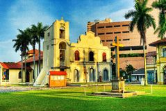 St. Francis Xavier Church Royalty Free Stock Photo