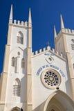 St. Francis Xavier's Church Malacca stock photography