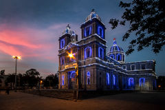 St.Francis Xavier's. Twilight over St.Francis Xavier's Cathedral Bangalore Royalty Free Stock Image