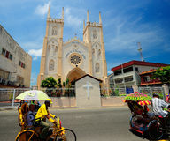 St Francis Xavier's Church, Malacca, Malaysia. Stock Images