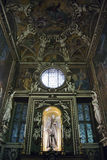 St. Francisco del altar de Assisi Imagen de archivo libre de regalías