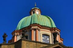 St. Frantisek, Old Town Bridge Tower, Prague, Czech Republic Stock Images
