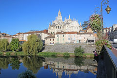 St Front Cathedral, Perigueux Royalty Free Stock Images