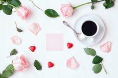 St Fundo do dia dos Valentim Imagens de Stock