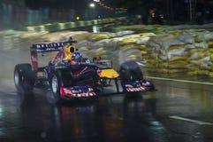 1st gång för bil F1 i Sri Lanka Arkivbilder