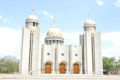 St. Gabriel Church, Hawassa, Äthiopien stockbild