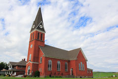 St. Gall. The church of St. Gall in Colton, Washington Royalty Free Stock Photos