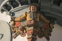 St Gallen's styl Obraz Royalty Free