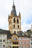St. Gangolf church in Trier Stock Photos