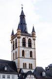 St. Gangolf church, Trier, Germany Stock Image
