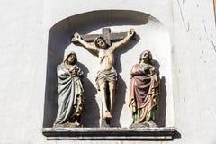 St. Gangolf, Trier, Deutschland lizenzfreie stockfotos