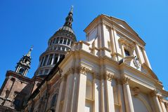 St. Gaudenzio church, Novara Royalty Free Stock Images