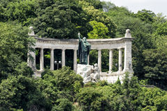 St. Gellert Statue, Budapest, Hungary Stock Images