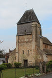 St Genest church - Lavardin - France Stock Photos