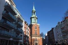 St. georg church hamburg germany Royalty Free Stock Photography