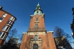 St. georg church hamburg germany Royalty Free Stock Images
